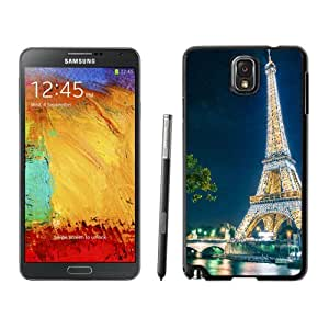 New Fashion Custom Designed Skin Case For Samsung Galaxy Note 3 With Magical Paris Phone Case Cover