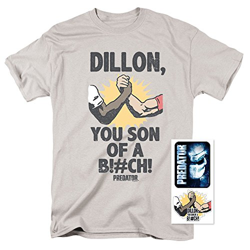 Men's Predator Dillon T Shirt & Exclusive Stickers