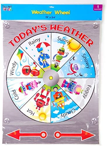 Weather rueda con diales de Spinning (Pack de 48): Amazon.es ...