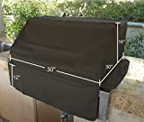 BBQ Built-in Grill Black Cover up to 30″