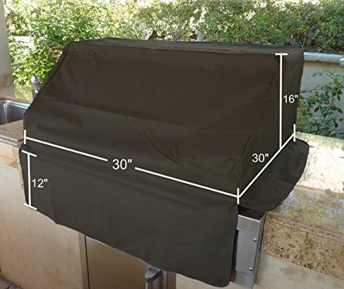 BBQ Built-in Grill Black Cover up to 30