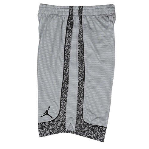 Jordan Nike Boys Air Elephant Print Basketball Shorts Wolf Grey XL