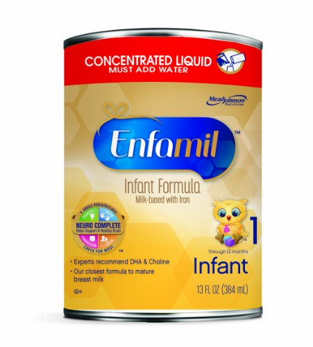 Enfamil PREMIUM Infant Concentrate Liquid, 13 Fl Oz (Packaging May Vary)