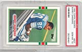 1989 Topps Traded Football Barry Sanders Rookie