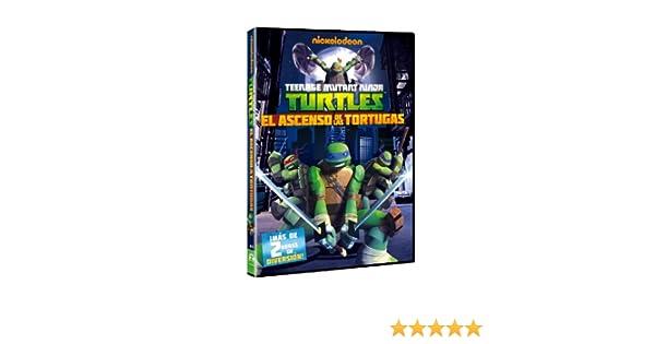 Las Tortugas Ninja: El Ascenso De Las Tortugas [DVD]: Amazon ...