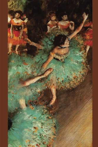 ''The Green Dancer'' by Edgar Degas - 1879: Journal (Blank / Lined) (Art of Life Journals) ()