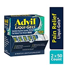 Advil Liqui-Gels (50 Packets of 2 Capsul...