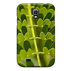New Fashionable MXcases MzO1695LVMV Cover Case Specially Made For Galaxy S4(leaf Pattern Iphone Wallpaper)