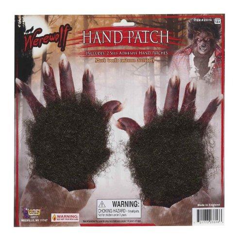 Werewolf Costume Accessories (Forum Novelties Werewolf Hand Patch)