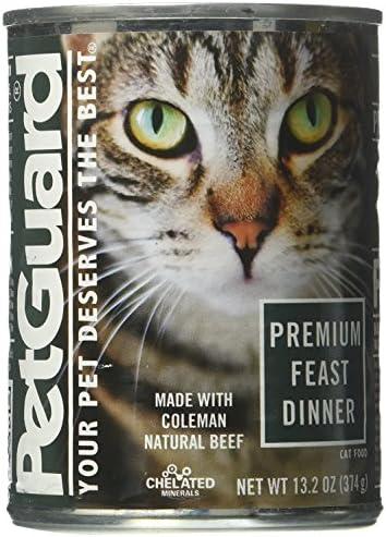 Pet Guard Natural Pet Products, Cat Food Premium Feast, 13.2 Ounce