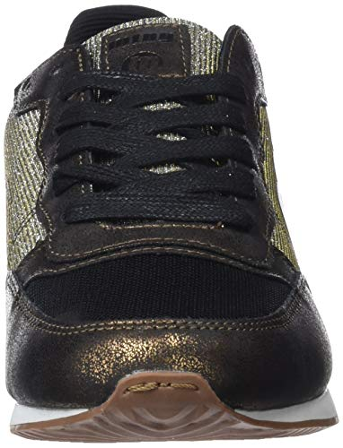 Mtng 69169 Mujer oro Negro Para Zapatillas Pu goat C42738 Negro wAHw7Rq