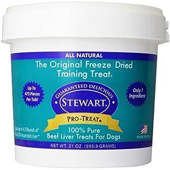 Stewart Freeze Dried Treats 21 oz. Beef Liver