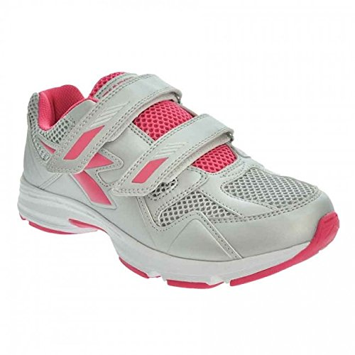 Diadora Zapatillas Sport Junior Shape 5 JR VELCRO Articolo 101.170173 Color c4778 gris claro violeta blanco (EU 35.5 (3.5 UK))