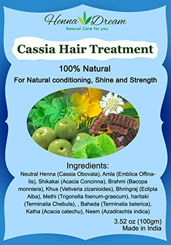 Cassia Hair Treatment-Pack of 5 (for hair) - total ()