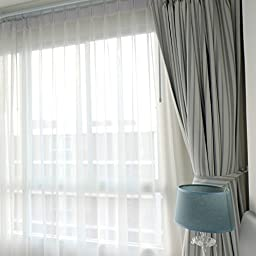 Utopia Bedding - Premium White Sheer Curtains - Sheer Voile - White Luxurious - High Thread Window Curtains - 2 Panel Set - 54 by 84 Inches