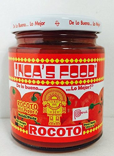 Inca's Food Rocoto Hot Sauce 7.5 Oz - 24 pack by Inca's Food