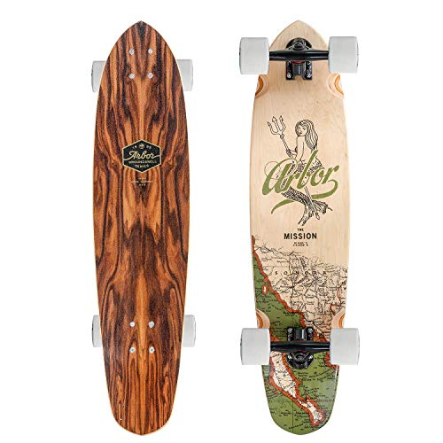 Fireball Arbor x Supply Co. Longboard Skateboards (Various Models) (Mission - Groundswell (35