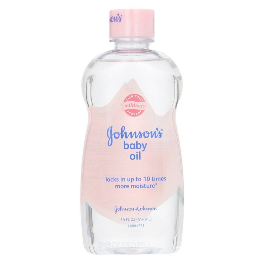 Johnson & Johnson Baby Oil Original, 14 Ounce JJ003314