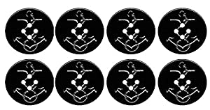 Amazon.com: Navy Pea Coat Buttons- Set of 8 Large Buttons