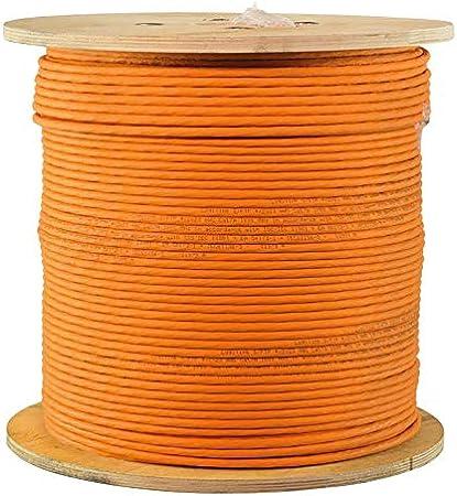 Violet Purple Purple 200 m Logilink LAN Installation Cable Cat.7A S//FTP PrimeLine LSZH 4x2xAWG23 1200 MHz 2X
