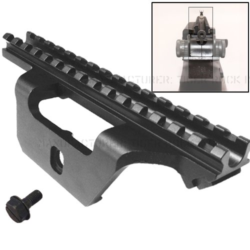 Low Profile See-thru Scope Mount fit the Springfield .308 rifle like socom 16