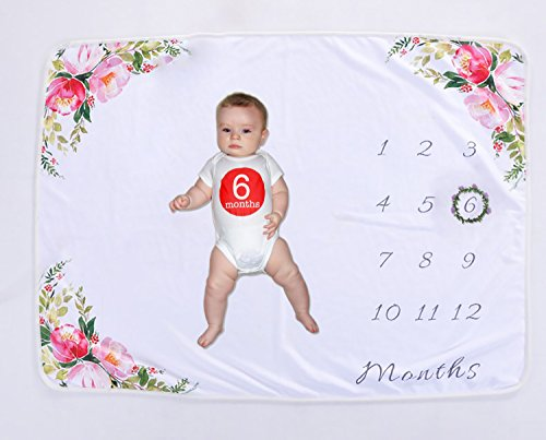 Baby Milestone Blanket Newborn Best Gift Photography Background Props Keepsake