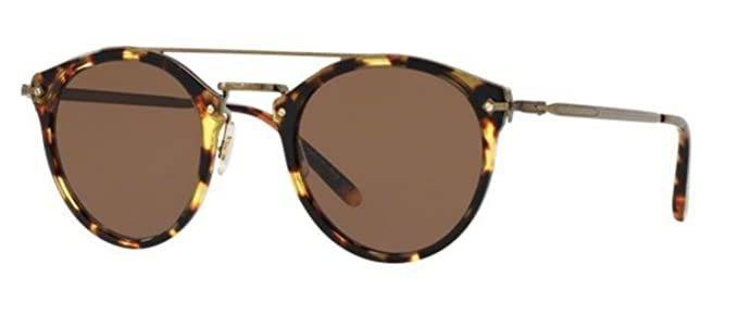 9af74ac3e9 Image Unavailable. Image not available for. Color  New Oliver Peoples OV  5349 S 140773 REMICK Havana Brown Sunglasses