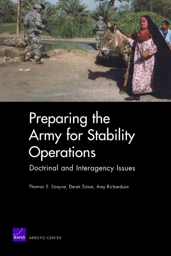 Preparing The Army For Stability Operations: Doctrinal And Interagency Issues