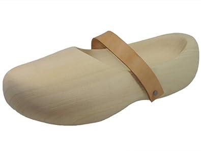 HOLZSCHUHVERSAND Unisex Holzschuhe ZEITLOS - die moderne Holzschuh-Variante
