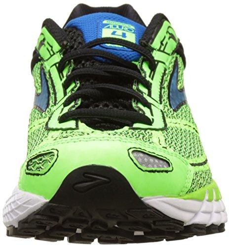 Brooks Aduro 4, Zapatos para Correr para Hombre Verde (Greengecko/black/electricbluelemonade)