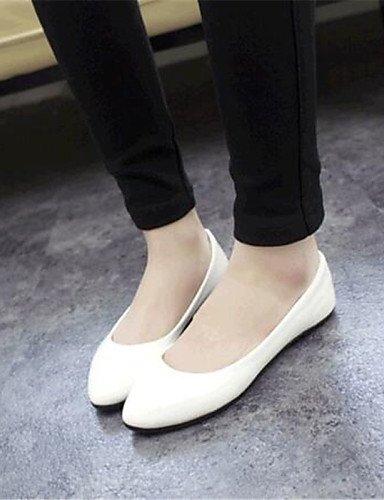 uk3 eu35 sintética plano de piel de mujer us5 exteriores black PDX talón cn34 comodidad pisos zapatos wTFAq6a