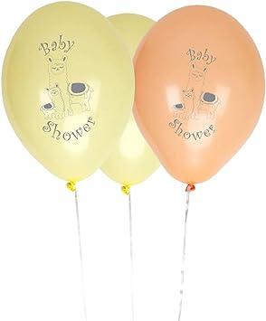 Neviti Llama Love-Baby Shower Balloons-8 Pack Globos, color pastel ...