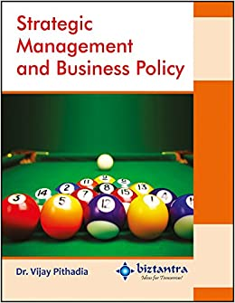 Book Strategic Management And Business Policy