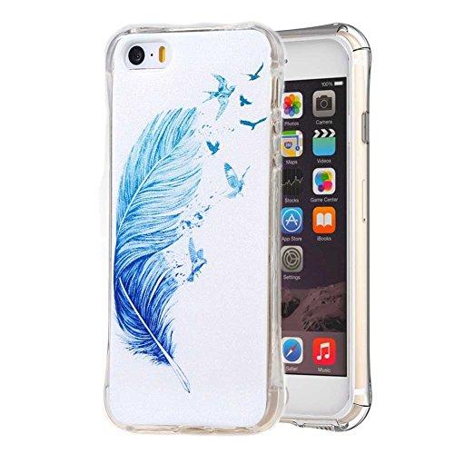 TPU Silikon Schutzhülle für iPhone SE Silikon Handyhülle Schale Etui Protective Case Cover (08#)