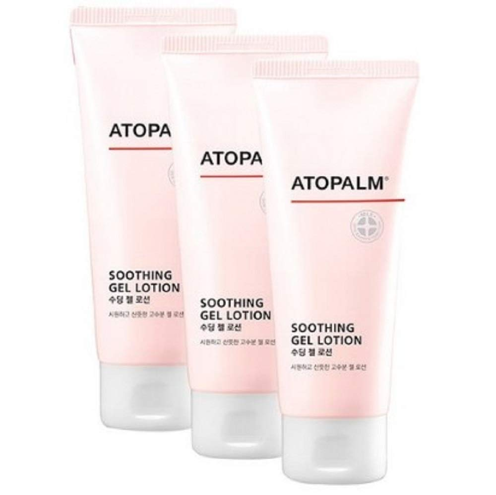 Atopalm Soothing Gel Kids Lotion 3.5 Fl. Oz x 3P Set by Atopalm