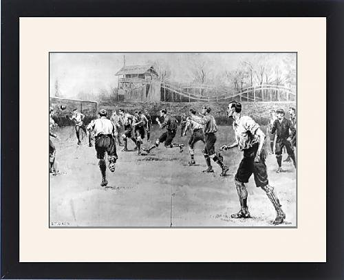 Framed Print of Nottingham Forest vs. Derby County F.A. Cup Final, 1898