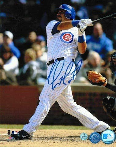 Chicago Photograph Cubs Soto - Autographed Geovany Soto Chicago Cubs 8x10 Photo - Signed MLB Photos