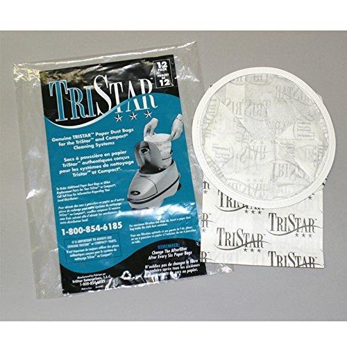 Tristar Paper Bag, Compact/ Tristar 12pk