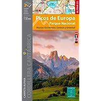 P. N. Picos de Europa 1: 25.000: Carpeta Alpina. Macizo Occidental / Macizo Central y Oriental (ALPINA 25 - 1/25.000)