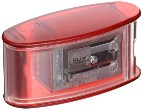 Kum AS2, Two Hole Automatic Long Point Pencil Sharpener, Mfg Part Number 1053021 (Extra lids not Included)