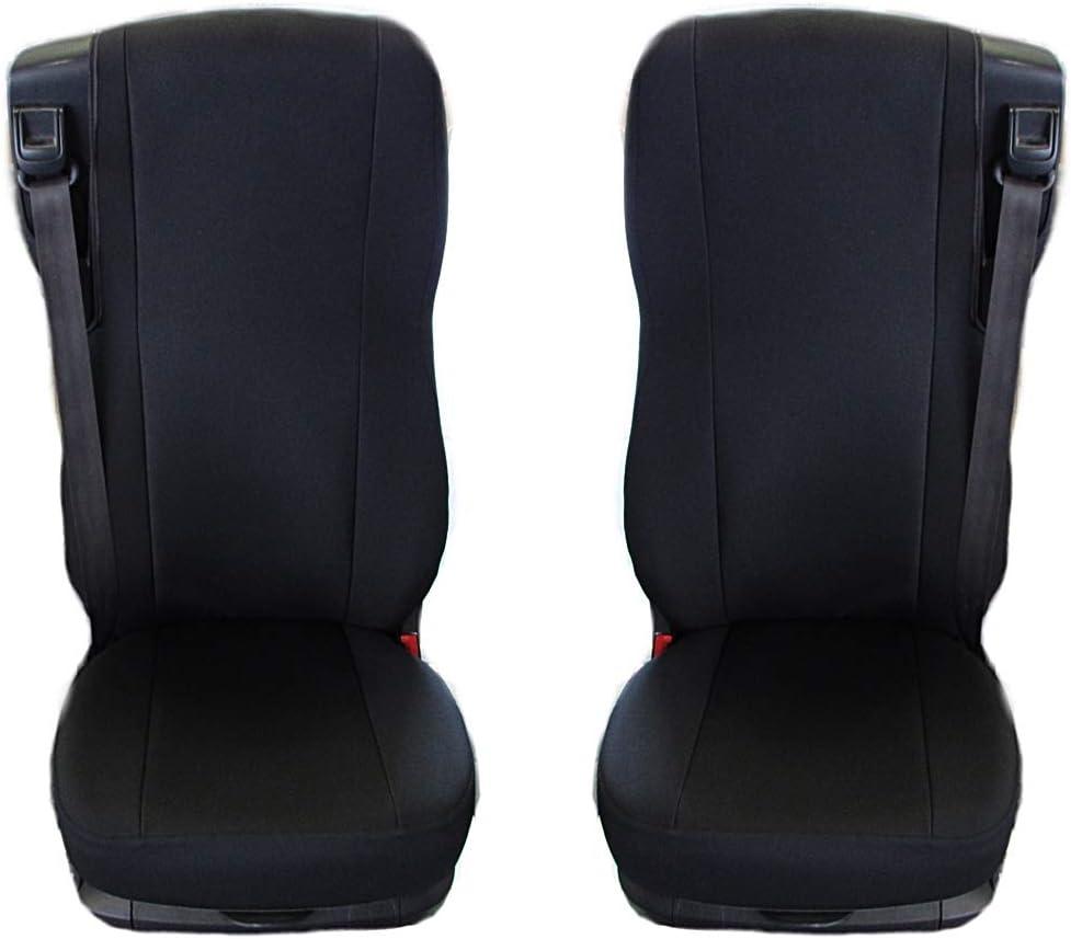 Texmar CF 106 EURO6 Fundas para asientos de camioneta DAF XF color negro y beige