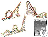 K'NEX Education - Roller Coaster Physics Set - 2,058 Pieces -  Ages 16+ Engineering Educational Toy