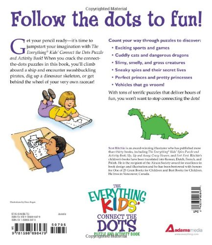The Everything Kids' Connect the Dots Puzzle and Activity Book ...