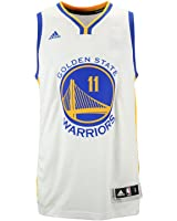 Klay Thompson Golden State Warriors White NBA Youth Home Swingman Jersey
