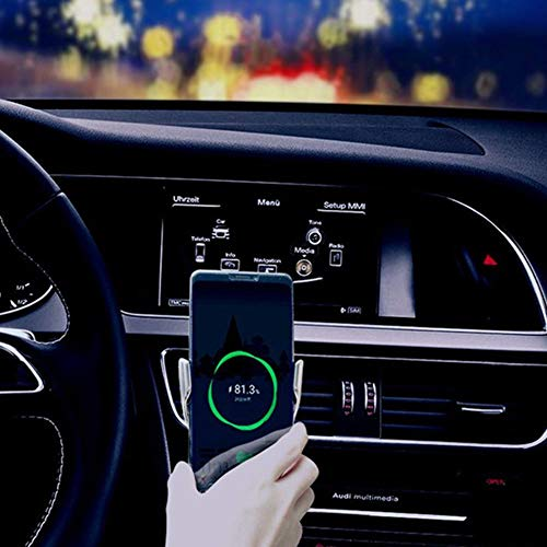 Bcamelys Wireless Car Charger,Smart Sensor Wireless Car Charger Mount Upgrade Version R2 Bracket Infrared Charger,10W Fast Charging Wireless Charger