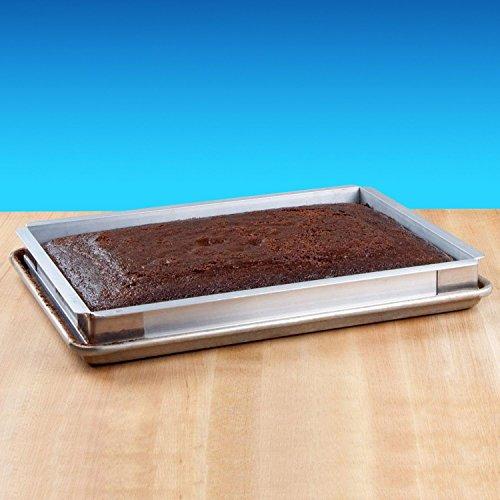 New Star Foodservice 42580 Aluminum Sheet Bun Pan Extender, 13 x 18 inch (Half Size)