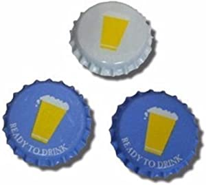 Home Brew Ohio 1 X Cold Activated Oxygen Barrier Crown Caps-144 Count (4257)