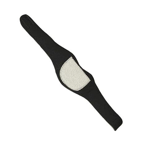 Flushzing La Terapia magnética Unisex Calentamiento Propio Apoyo de Cuello Suave Collar Cervical Ajustable Cuello Protector: Amazon.es: Hogar