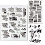 Make A Wish Clear Stamps for DIY Scrapbooking Decoration Card Making Supplies(Make A Wish)