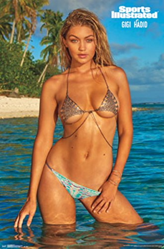 Sports Illustrated Swimsuit Gigi Hadid Pinup Photo Poster 22x34